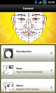 Face Reading Secret Lite screenshot