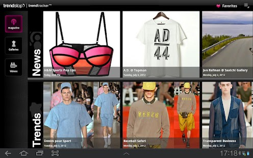 Trendstop.com for Tablet & TV - screenshot thumbnail