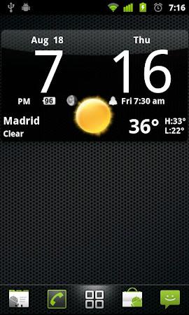 Smoked Glass Clock Widget 4.5.0 screenshot 201220