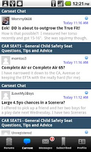 Car-Seat.Org Forums & Features - screenshot thumbnail