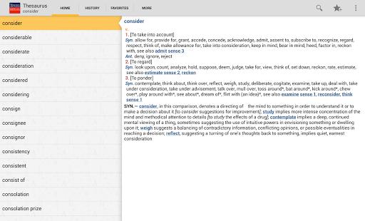 【免費書籍App】Webster's Thesaurus TR-APP點子
