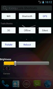 Wifi Bluetooth GPS Brightness - screenshot thumbnail