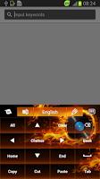 Screenshot of Themed Flames Keyboard