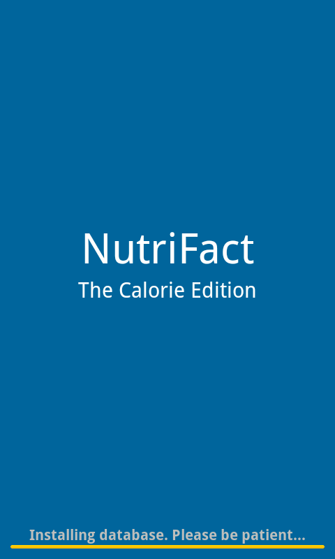 NutriFact :: Calorie - screenshot