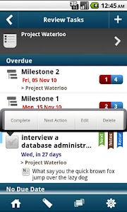 WAToDo! Android To Do List screenshot 0