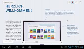 Screenshot of Digitale Schulbücher