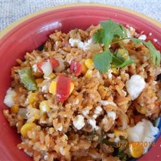 Cheesy Mexi-Rice Casserole.