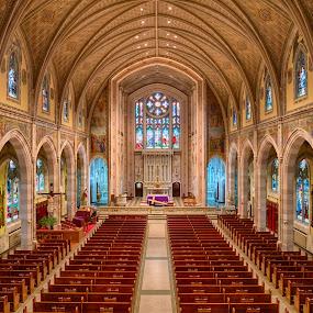 Holy Spirit Parish by Alan Roseman - Buildings & Architecture Places of Worship ( religion, holy spirit parish, catholicism, church, rhode island, central falls, worship,  )