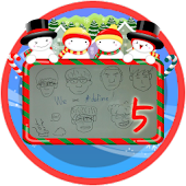 Christmas Frame Widget Fifth
