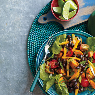 Roasted Sweet Potato and Black Bean Salad.