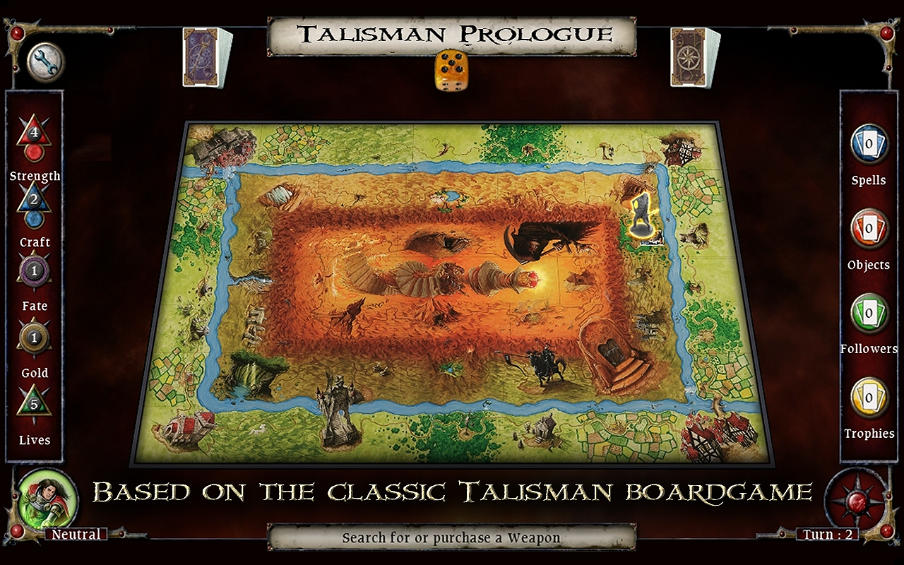 Talisman: Prologue- screenshot