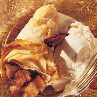 Apple Phyllo Cornucopias.