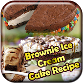 Brownie Ice Cream Cake Recipe