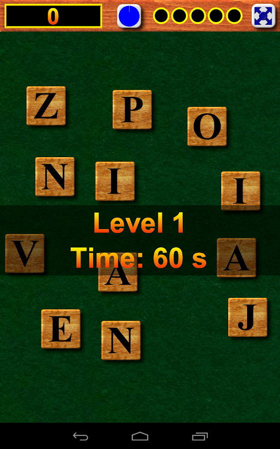 WordSlide Word Game - screenshot
