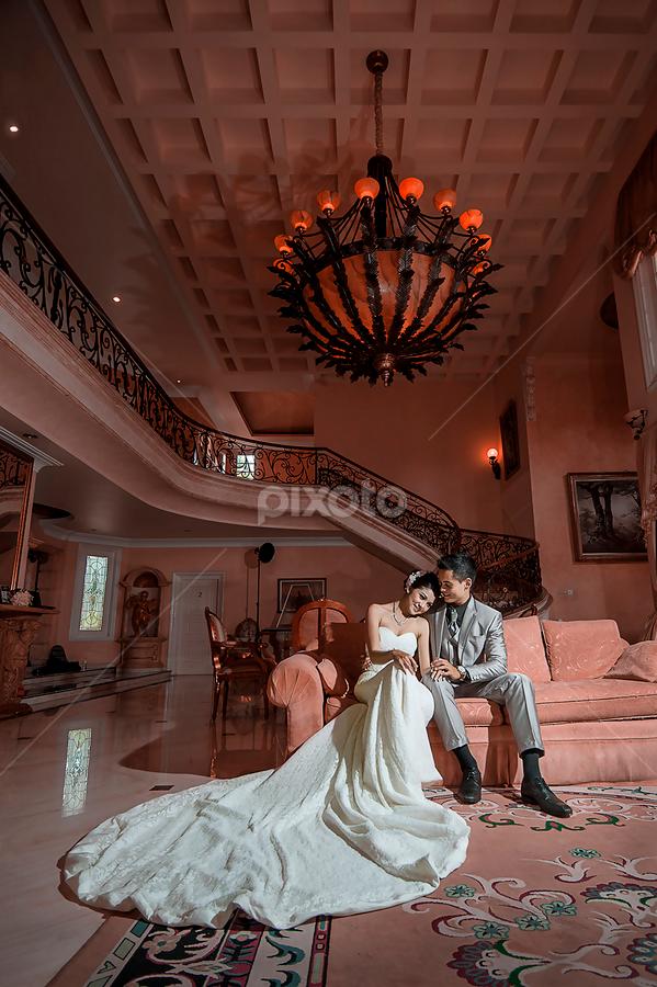 Romantic Time by Amin Basyir Supatra - Wedding Bride & Groom ( love, bali, indoor, prewedding, wedding, romantic,  )