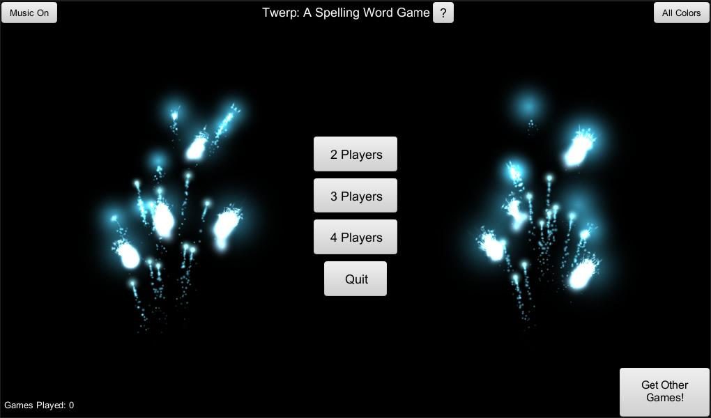 Twerp! A Spelling Word Game - screenshot