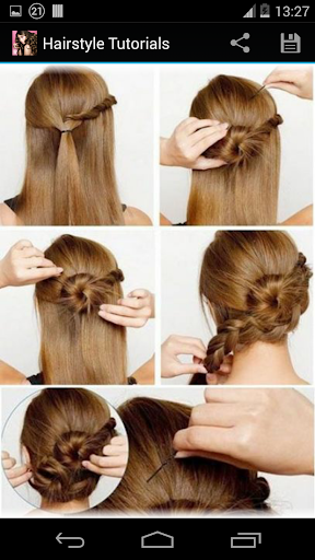 Hairstyles step by step  screenshots 2