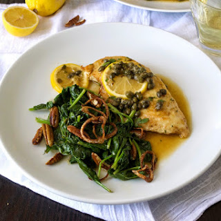Chicken piccata and $25 Rachael Ray gift certificate giveaway