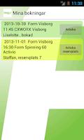 Screenshot of Form Visborg