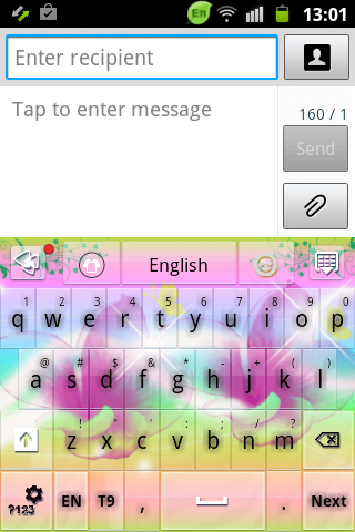 [cydia] 自訂iphone鍵盤顏色與背景-color keyboard @ 教育人の科技生活 :: 痞客邦 PIXNET ::