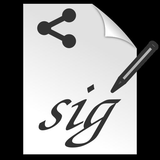 Signature Share LOGO-APP點子