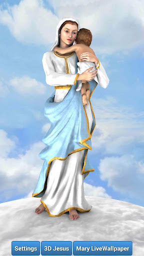 3D Mother Mary