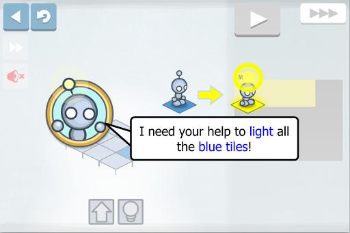 Lightbot - 프로그래밍 퍼즐