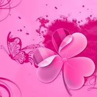 Launcher Theme Pink Heart 3.6