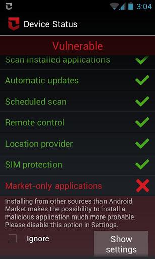 Zoner Mobile Security  screenshots 5