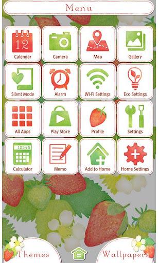 Strawberries & Flowers Theme 1.0.0 Windows u7528 3