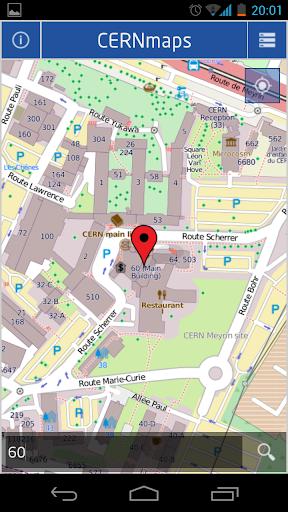 CERN Maps
