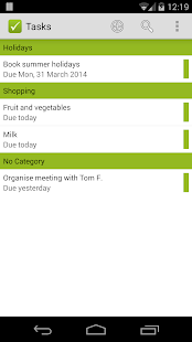 Tasks for Microsoft® Exchange - screenshot thumbnail