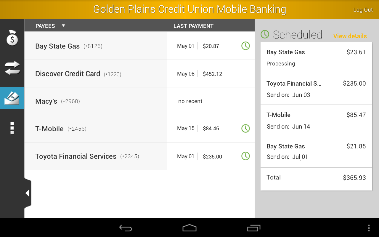 Golden Plains Credit Union- screenshot