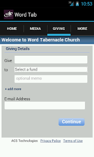 Word Tabernacle Church- screenshot thumbnail