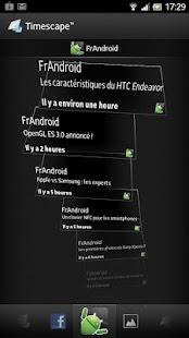 FrAndroid Timescape™- screenshot thumbnail
