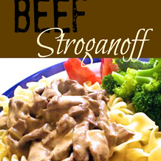 Beef Stroganoff.