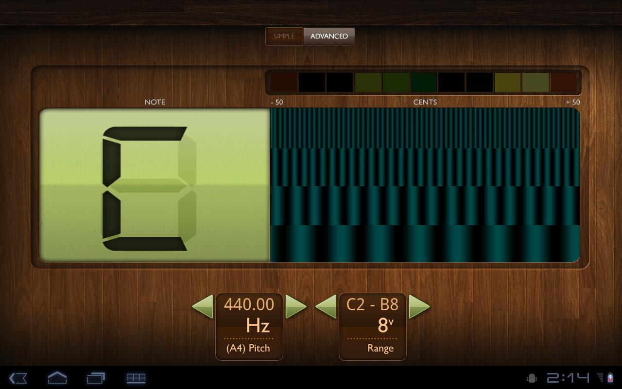 Miso Tuner - screenshot