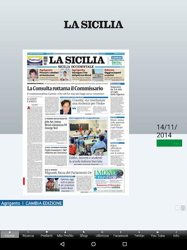 La Sicilia Edicola Digitale 4.8.030 screenshots 10