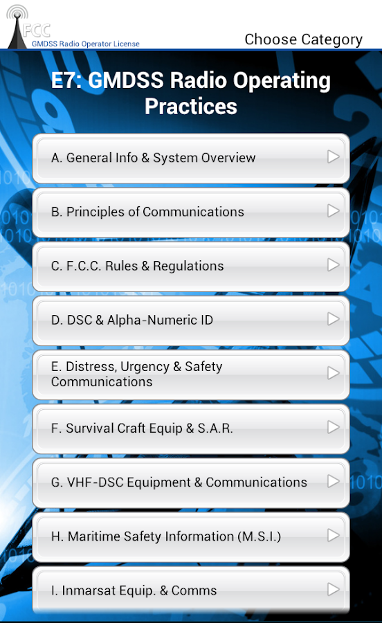 fcc gmdss rol exam android apps on google play