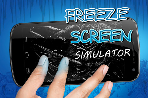 Freeze screen simulator