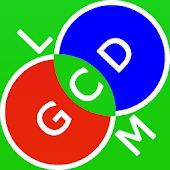 GCD and LCM calculator