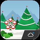 Winter of north Weather Widget icon