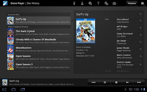 Media Remote for Tablet - screenshot thumbnail