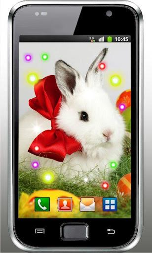 Easter Bunny Cute HQ LWP