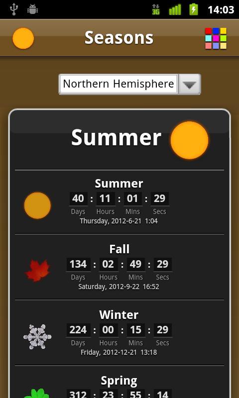 Seasons- screenshot