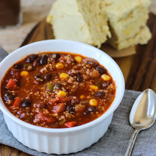 Best Ever Quinoa Chili {vegan and gluten-free}.