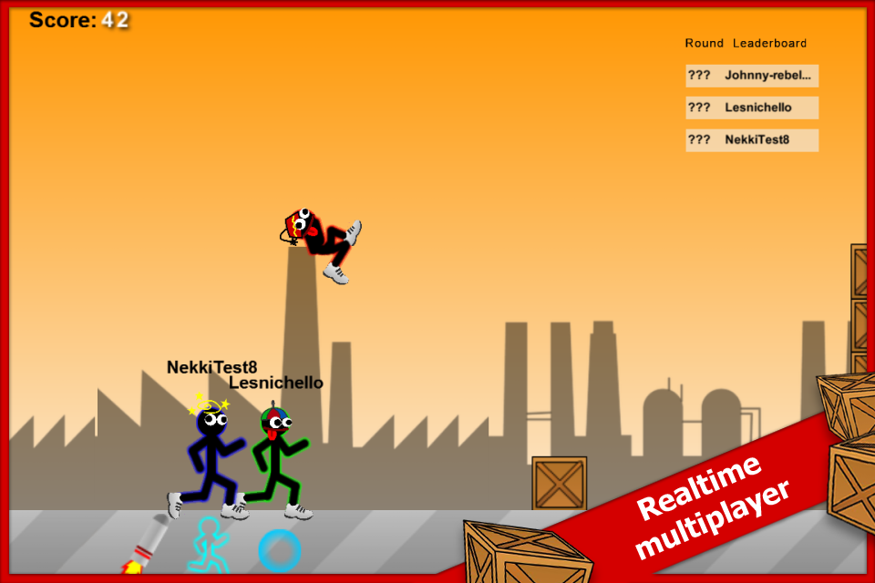 Stick Run Mobile- screenshot