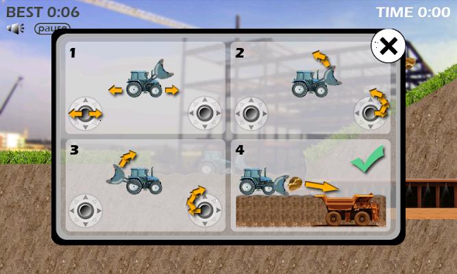 Excavator - screenshot
