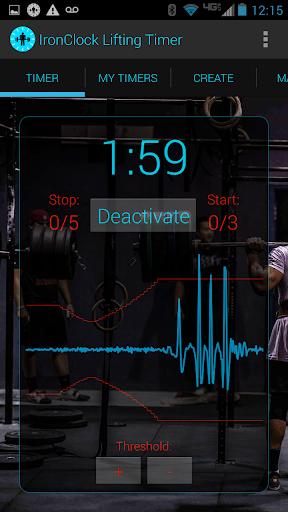 IronClock Lifting Timer App