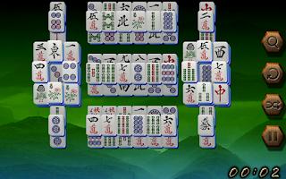 Screenshot of Mahjong Oriental